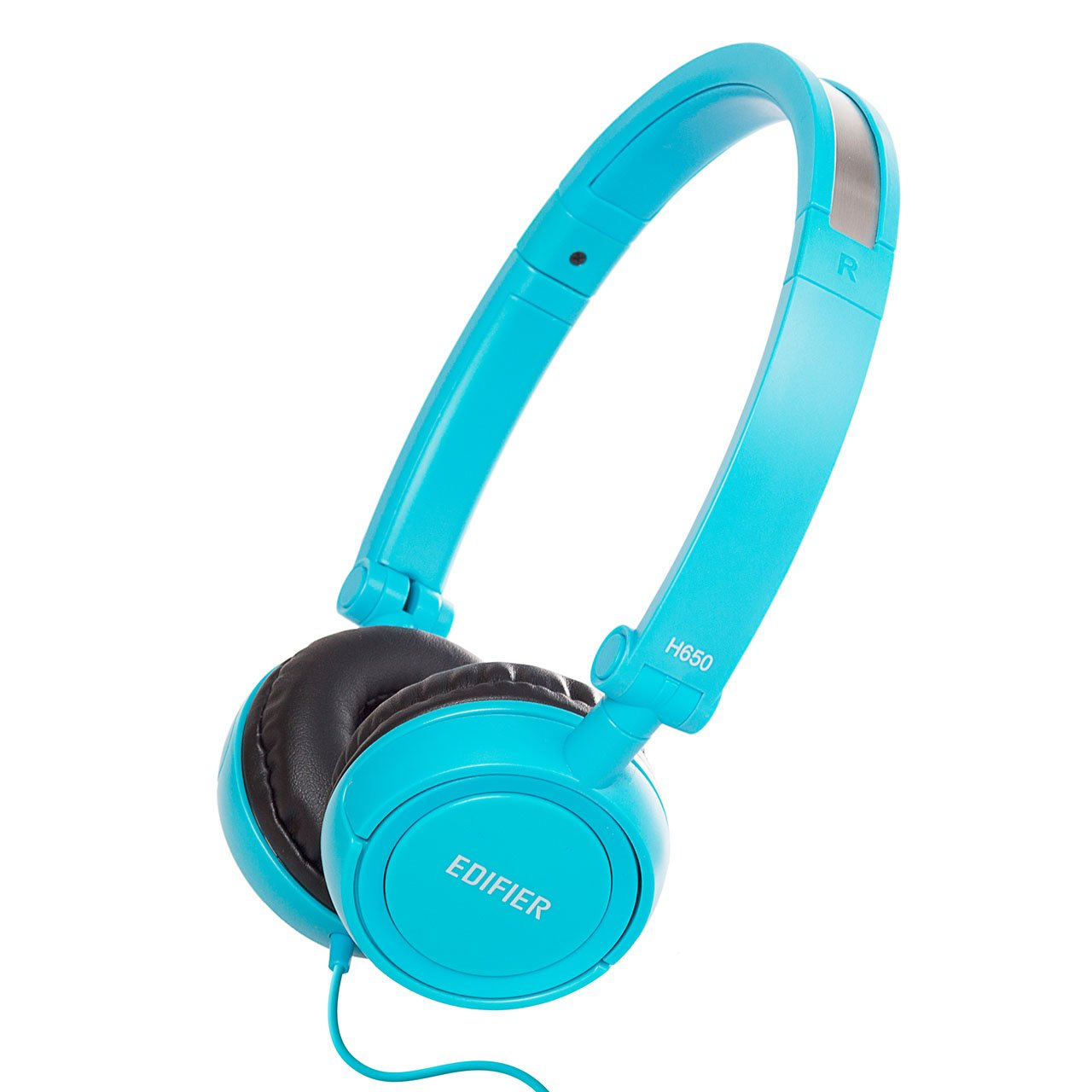 Edifier H650 Headphones - Hi-Fi On-Ear Foldable Noise-Isolating Stereo Headphone, Ultralight and Tri-fold Portable - Blue