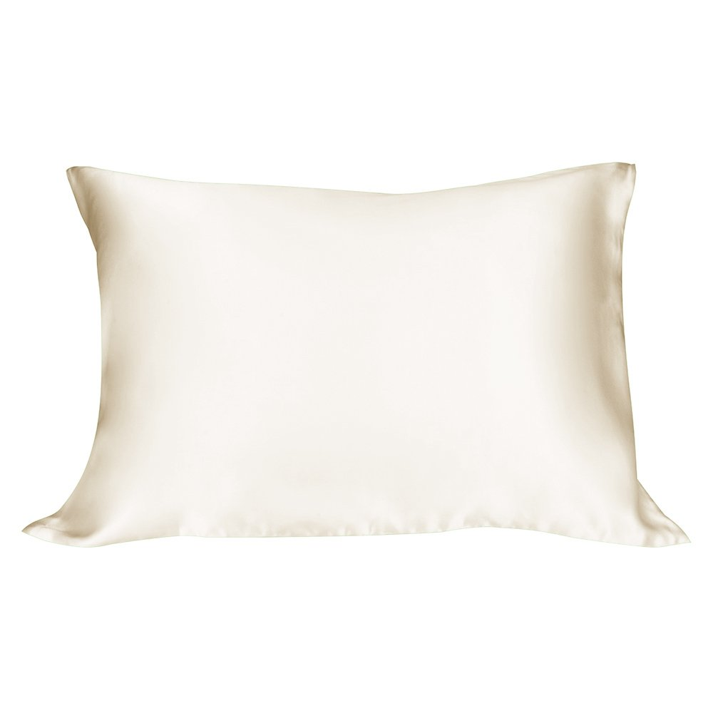 LULUSILK 19 Momme 100% Pure Mulberry Silk Pillowcase