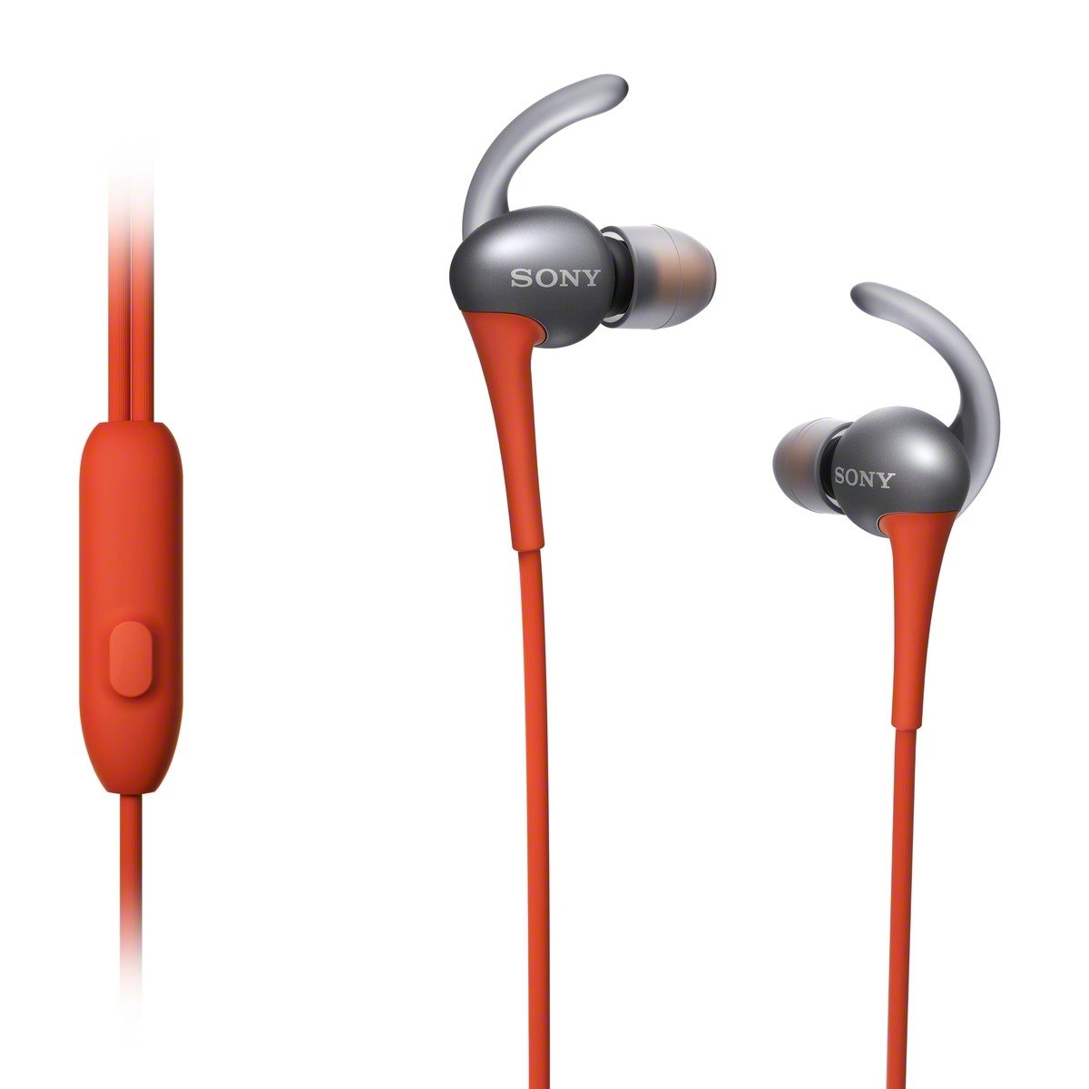 Sony MDRAS800AP/D Active Sports Smartphone Headset, Orange