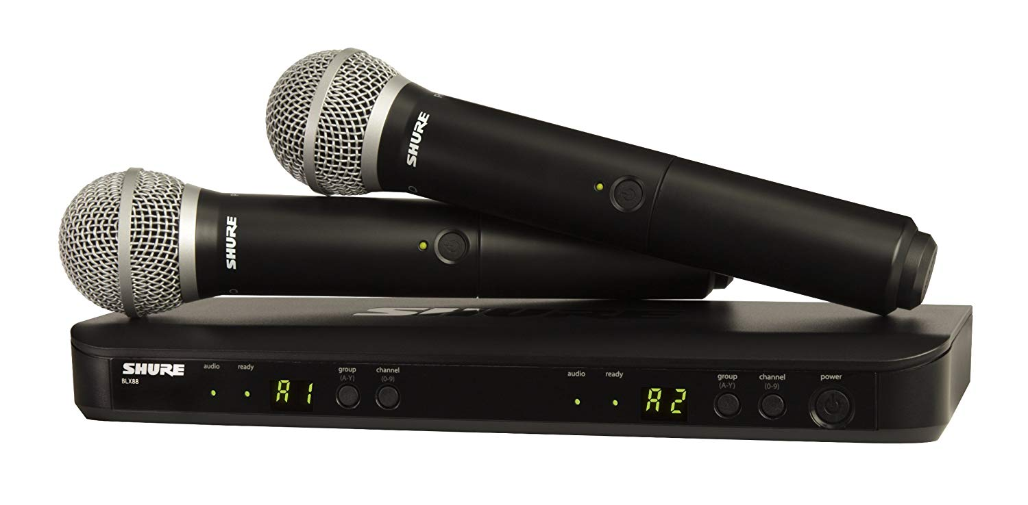 Shure BLX288 Wireless System Vocal Microphones
