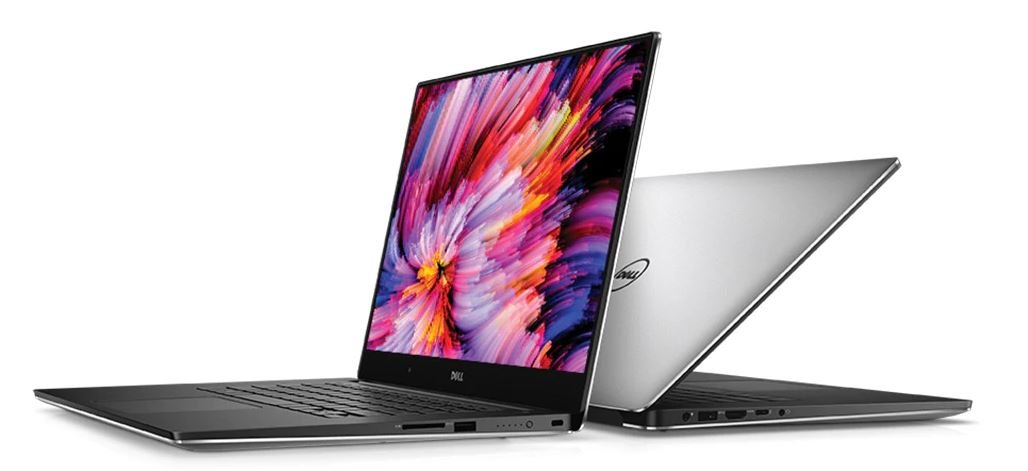 "Dell XPS 15 9560 15.6"" FHD InfinityEdge Display Intel Core i7-7700HQ X4 2.8GHz 8GB 256GB SSD NVIDIA GeForce GTX 1050 Silver (Certified Refurbished)"