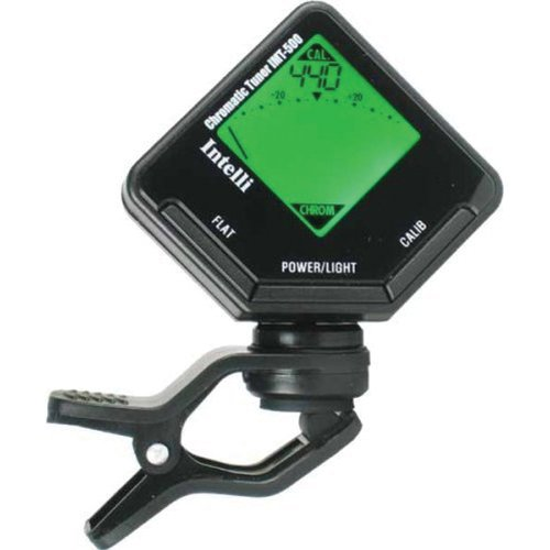 Intelli IMT500 Clip-on Chromatic Digital Tuner for Strings