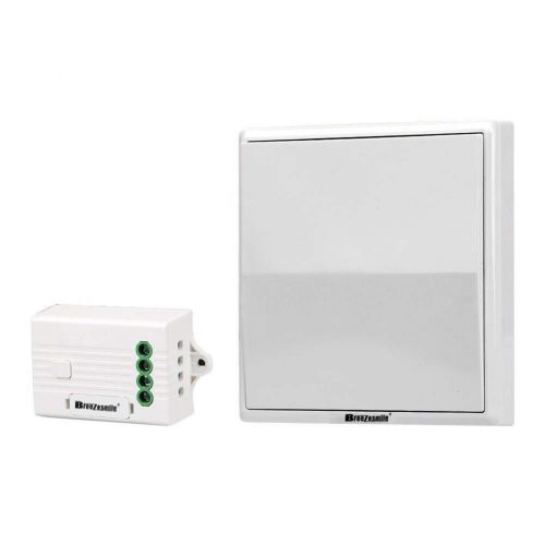 Wireless Light Switch Kit, Breeze smiled Remote Light Switch