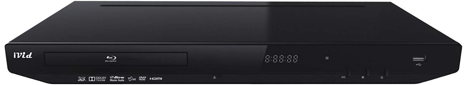 iVid BD780 3D Blu-Ray DVD Player