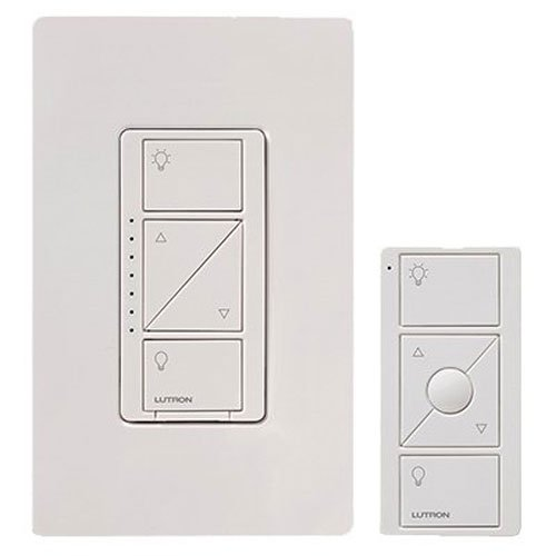 Lutron Caseta Wireless Smart Lighting Dimmer Switch for Wall