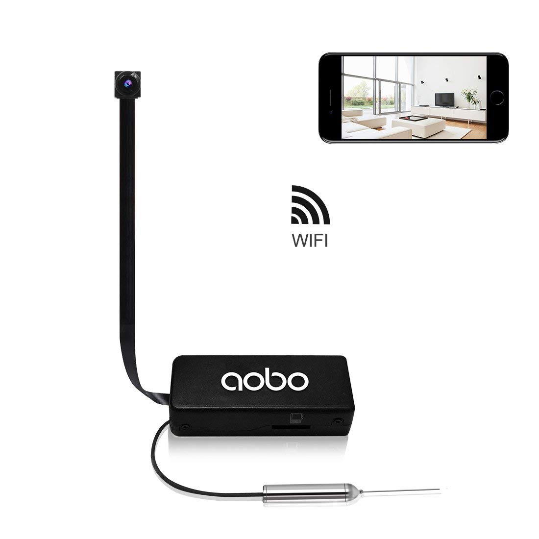 Hidden Camera AOBO Mini Spy Wireless WiFi IP