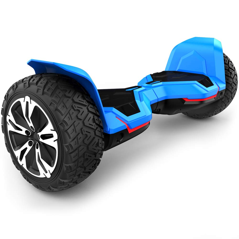 Gyroor Warrior 8.5 inch All Terrain Off Road Hoverboard with Music Speakers and LED Lights, UL2272 Certified Self Balancing Scooter 2018