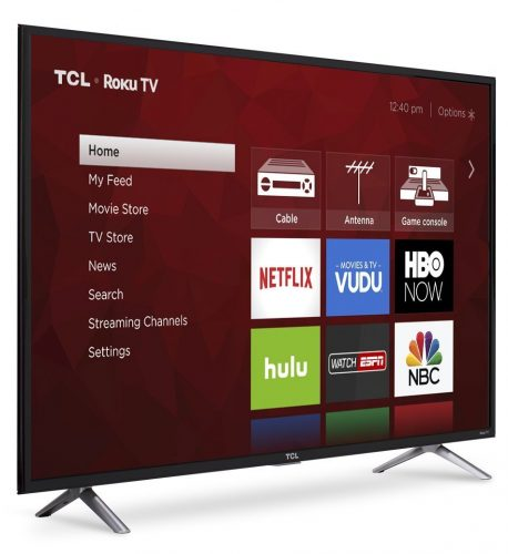 TCL 49S405 Ultra HD Roku Smart LED TV
