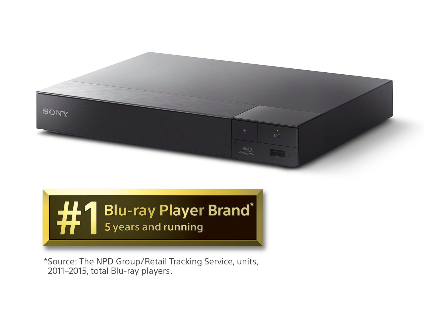 Sony 4K Upscaling 3D Streaming Blu-Ray Player