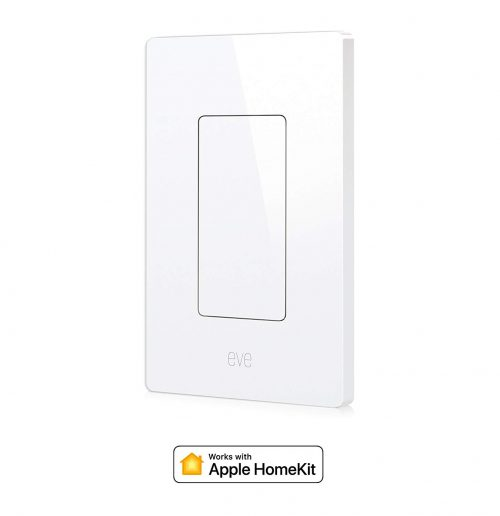 Eve Light Switch, Connected Wall Switch