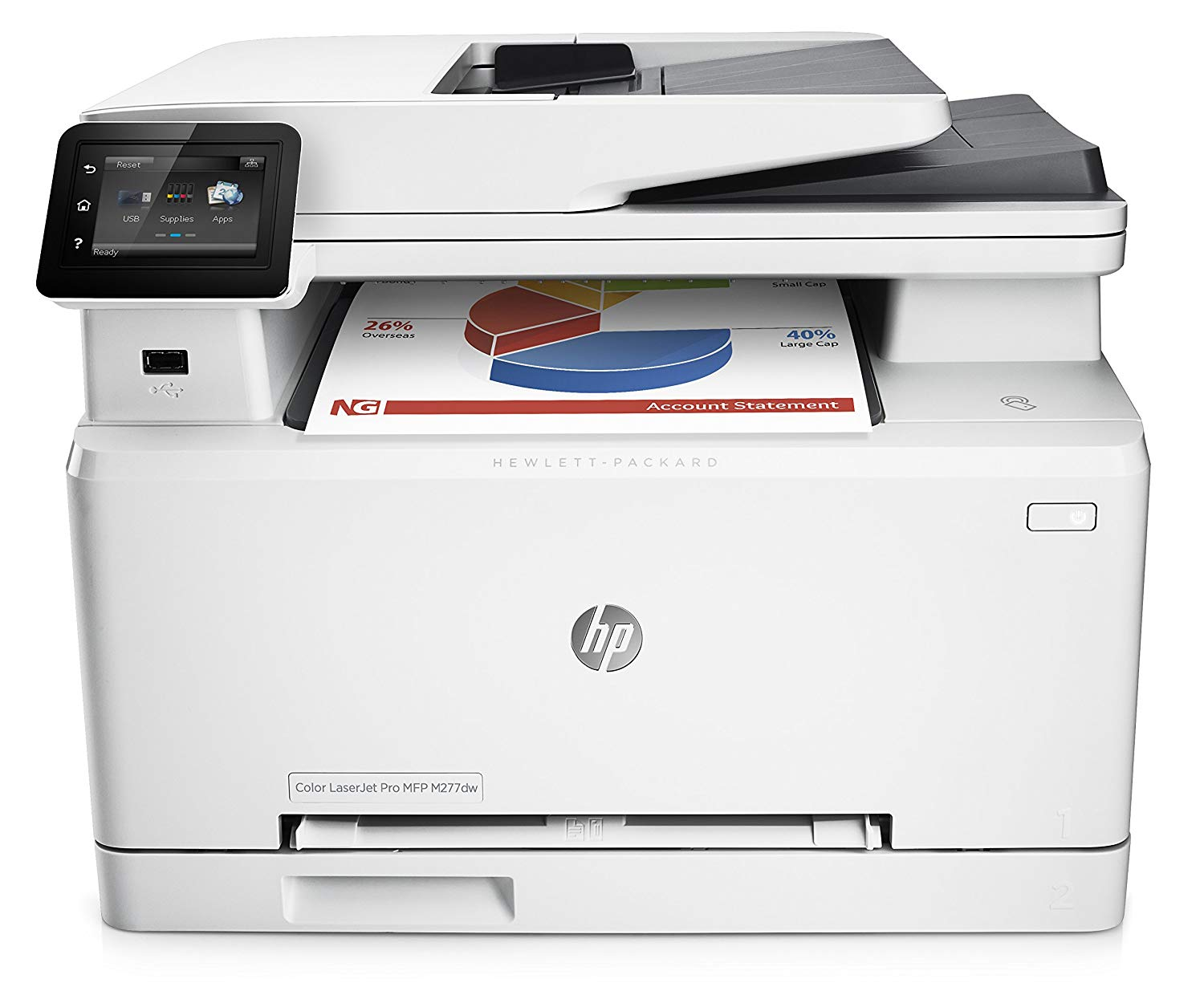 HP Laserjet Pro M277dw Wireless Color Printer