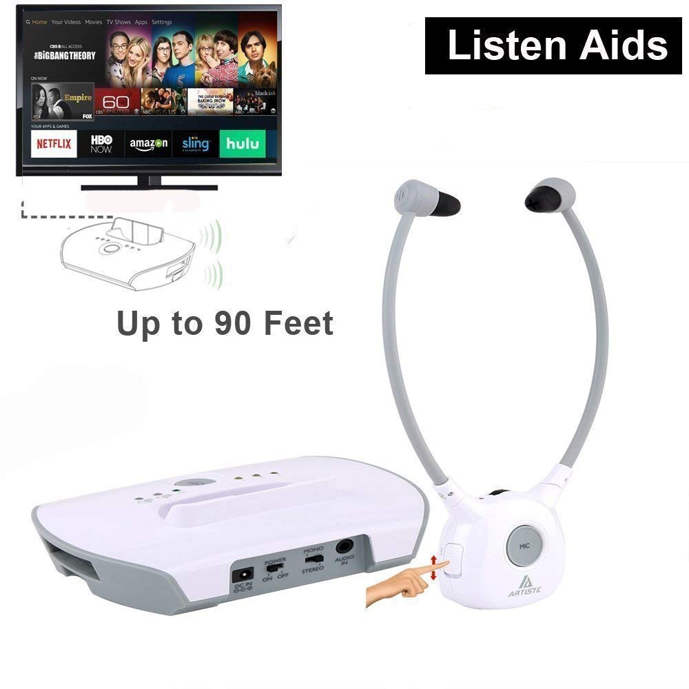 ARTISTE Wireless Hearing Aid Headset