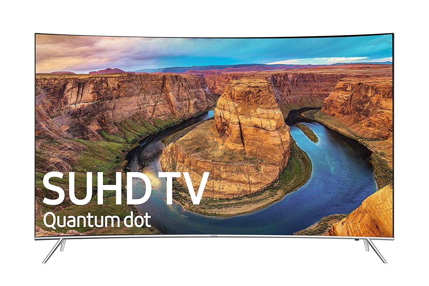 Samsung UN65KS8500 Curved 65-Inch 4K Ultra HD Smart LED TV (2016 Model)