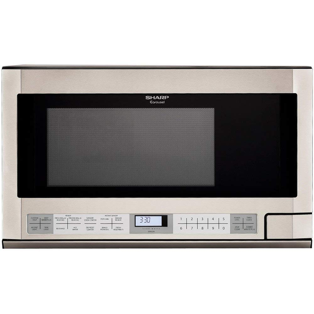 Sharp Over-the-Counter Microwave - built-in microwaves
