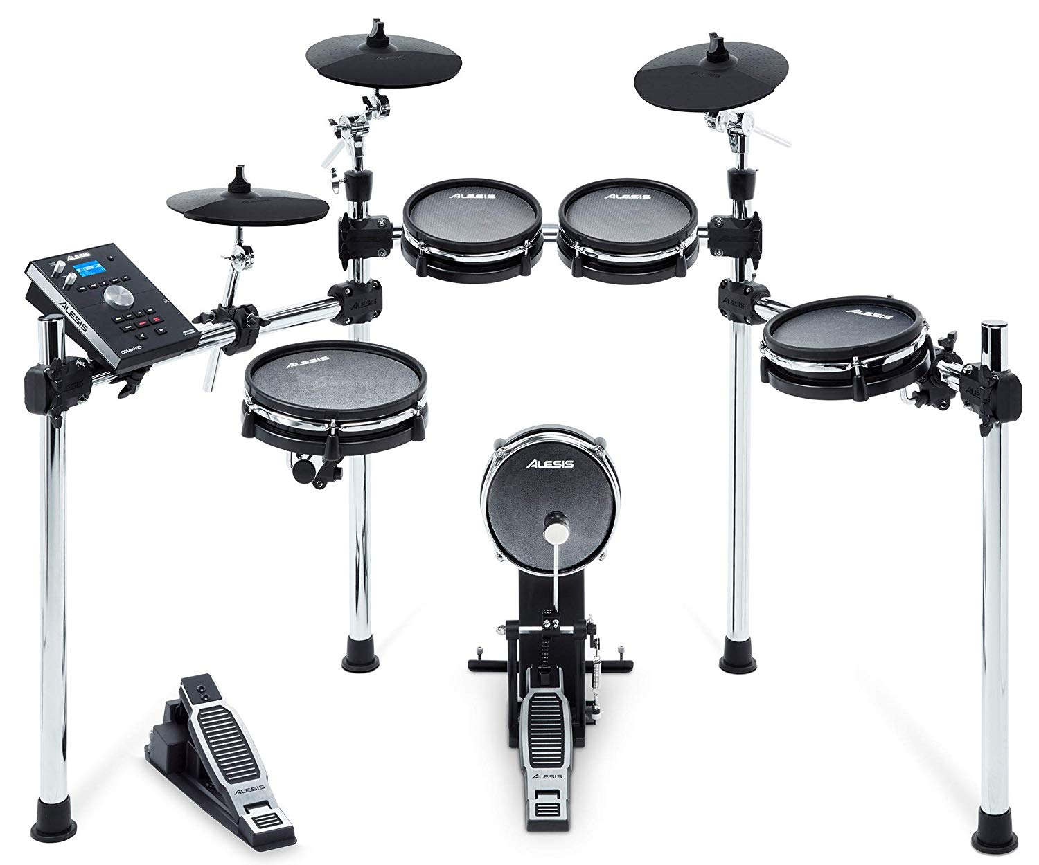 8-Piece Electronic Drum Kit