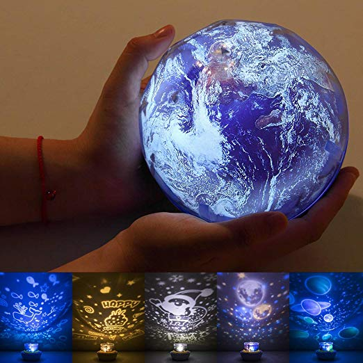 Night Light Projector for Kids by One Fire