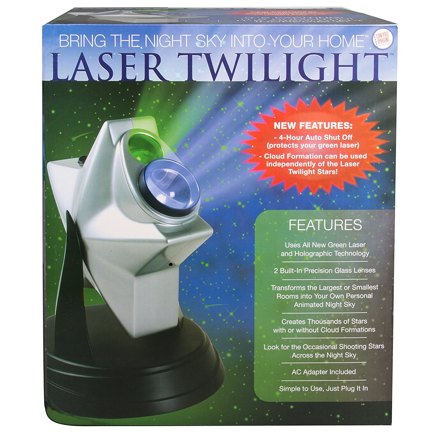 Laser Twilight Indoor Light Show - Bring the Night Sky into Your Home