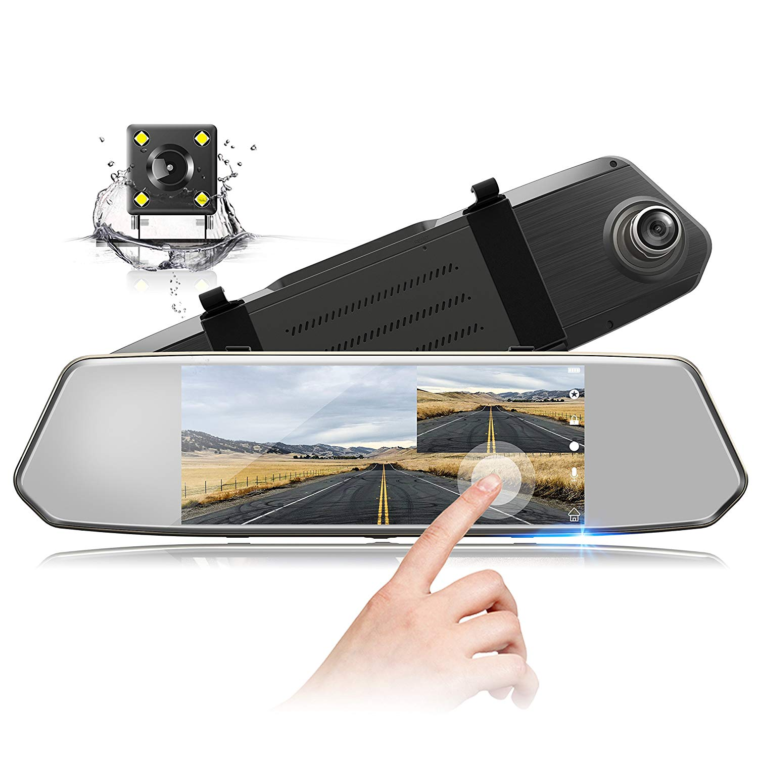 TOGUARD Backup Camera 7""