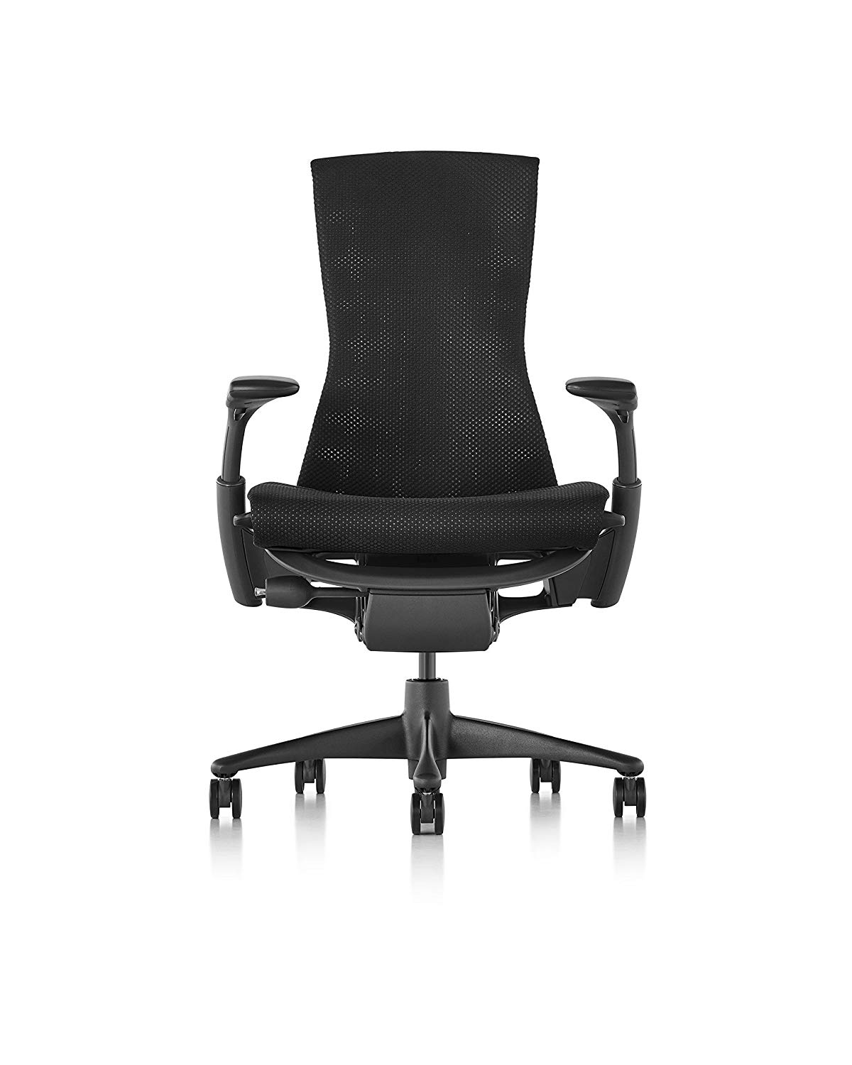 Herman Miller Embody Chair - Graphite Frame/Black Balance Textile