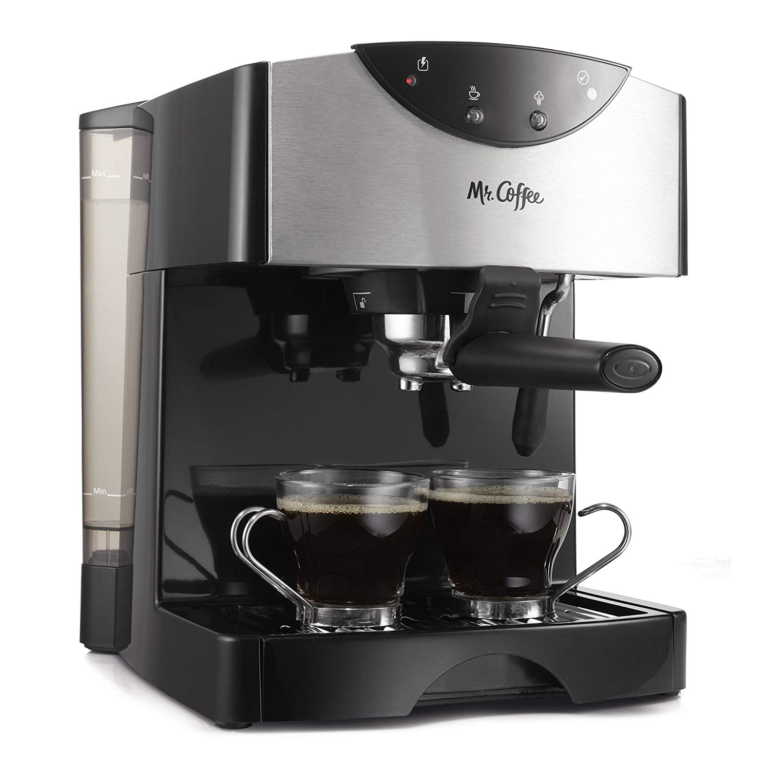 Mr. Coffee Automatic Dual Shot Espresso/Cappuccino