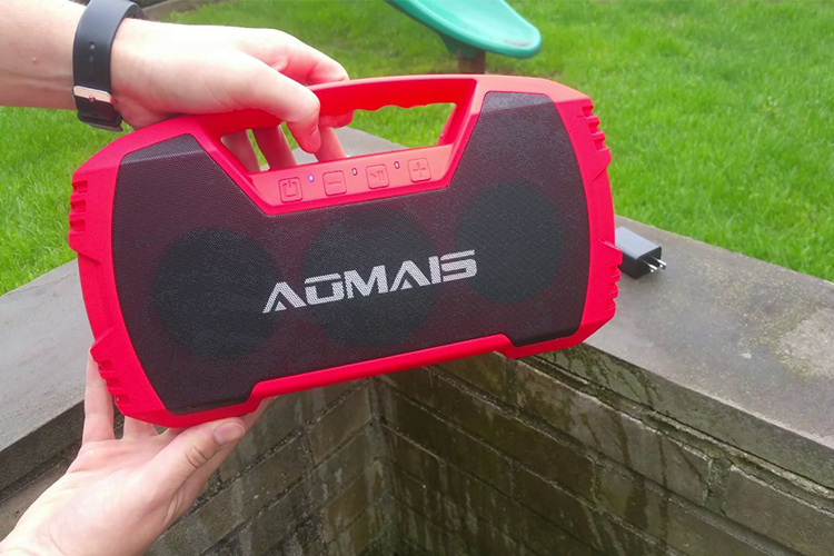 AOMAIS GO Bluetooth Speakers - The Double Check