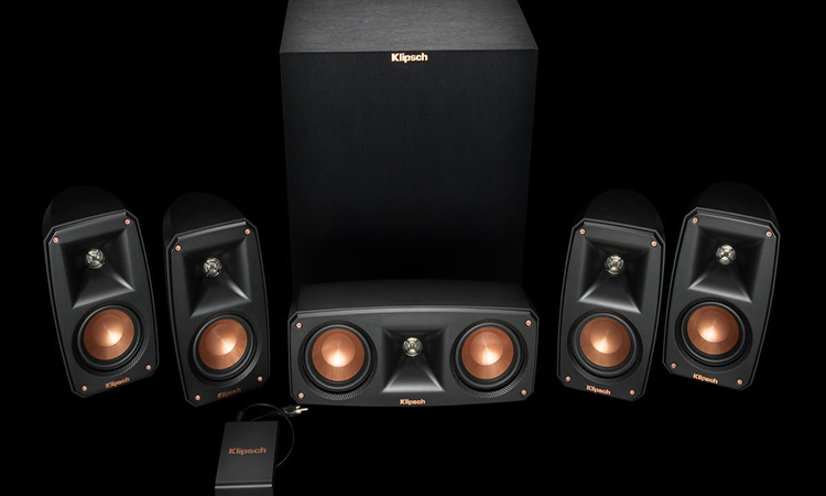 Klipsch Black Reference Theater Sound System