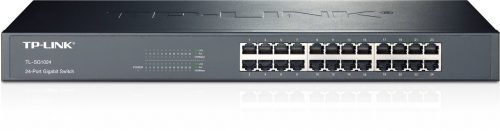 TP-LINK - 24-Port 10/100/1000 Mbps Gigabit Ethernet Switch