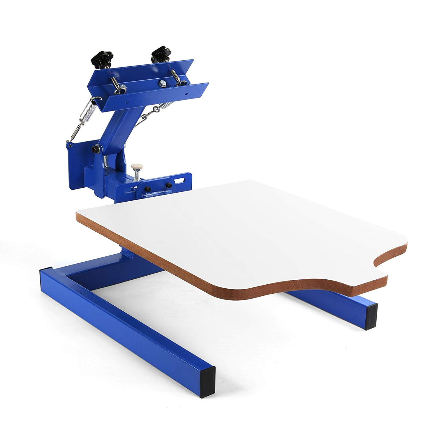 Top horn Screen Printing Machine 1 Station 1 Color Screen Printing