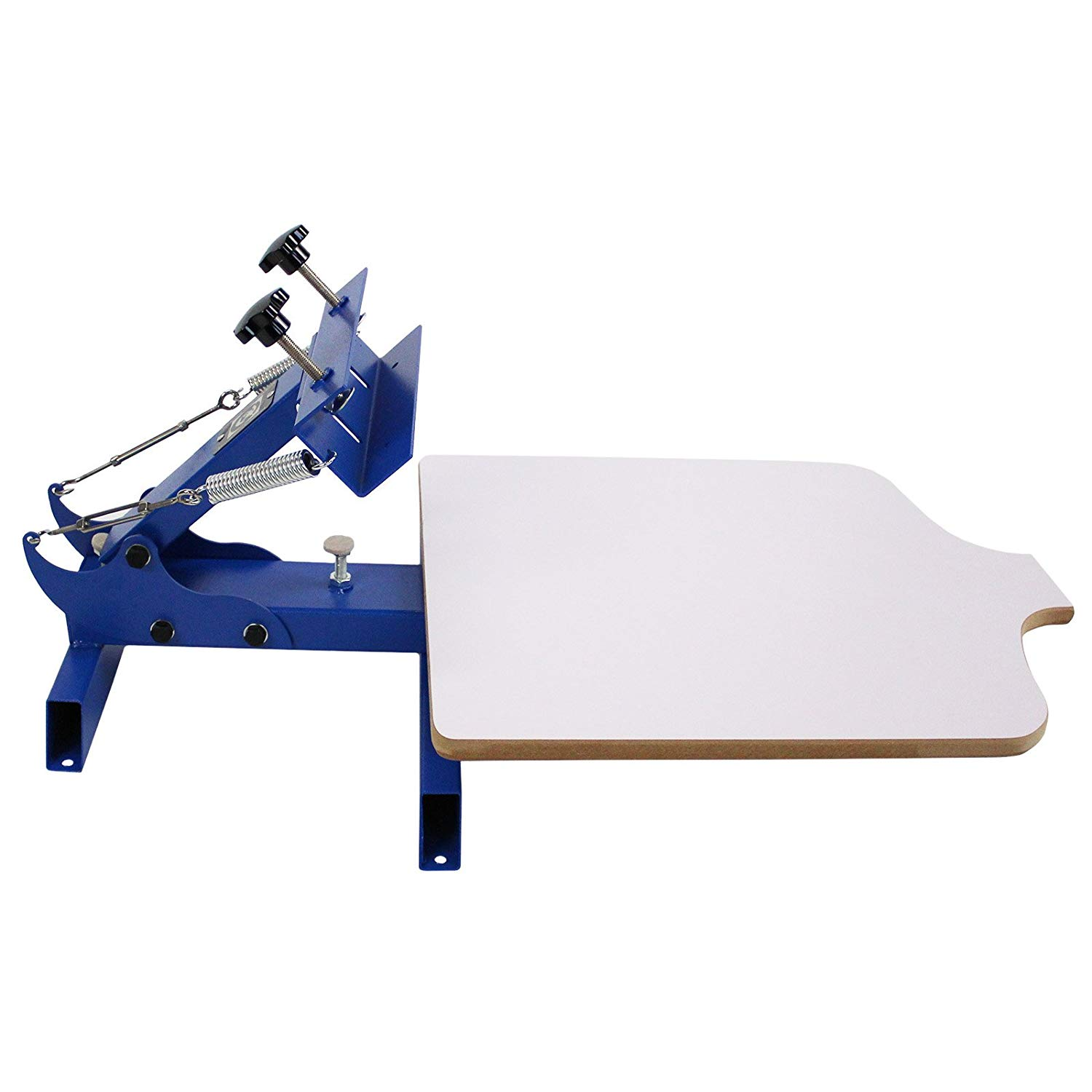 Simple Single 1 Color 1 Station Silk Screen Printing Machine NS101