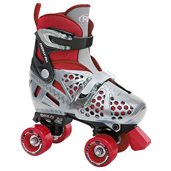 Roller Derby Boy's Trac Star Skate | Adjustable Roller Skate Shoes for kids