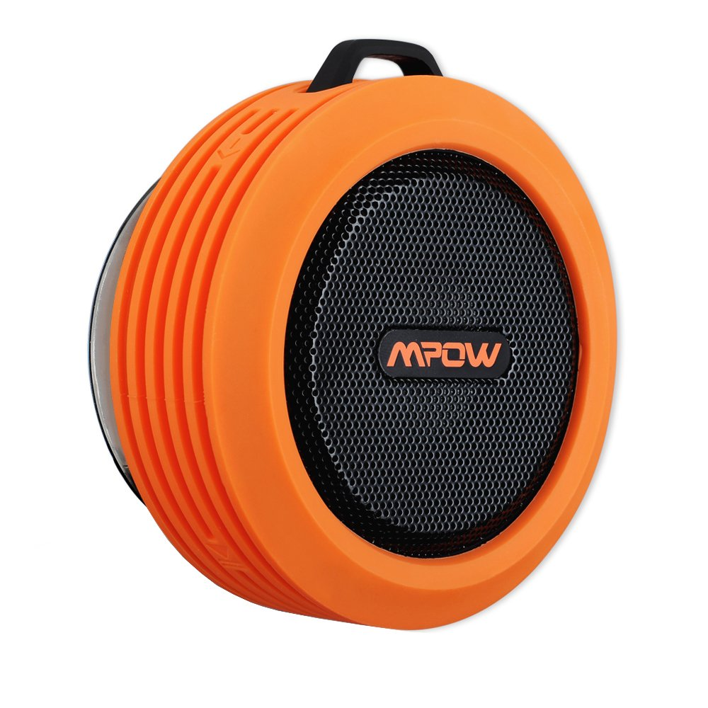 Mpow Buckler Wireless Waterproof Shower Speaker Bluetooth