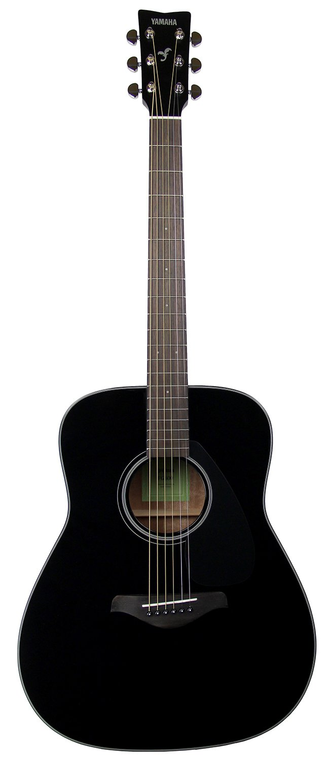 Yamaha FG800 Acoustic Guitar - Black Bundle