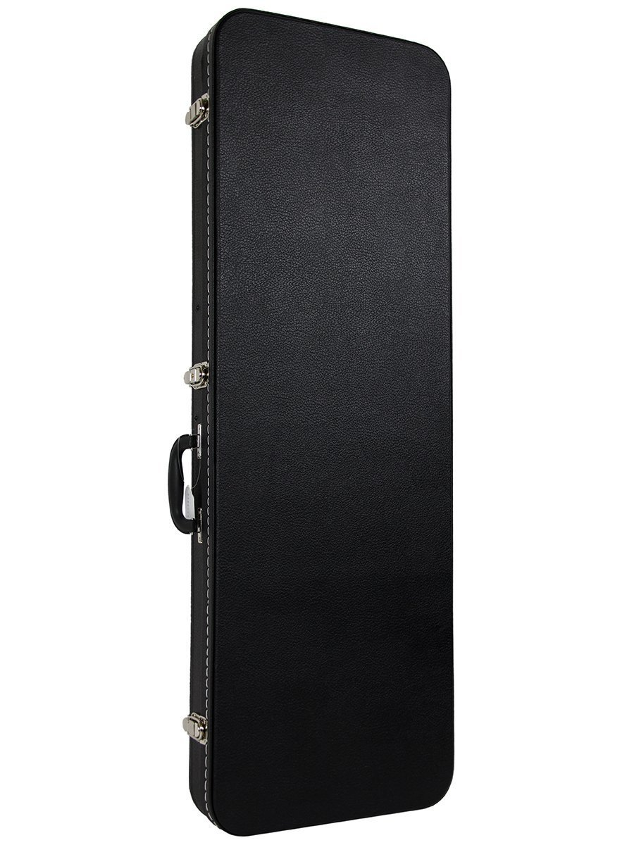 Gearlux Rectangular Electric Guitar Hard Case – Black