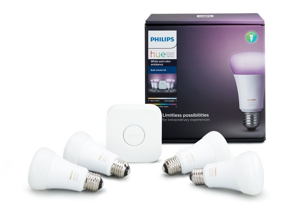 Philips Hue White and Color Ambiance - Google Home Mini Accessories and Kits