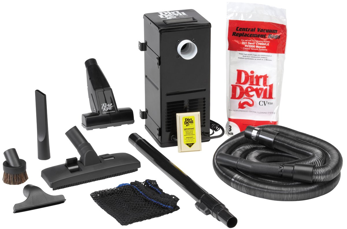 HP Products 9614 All-in-One Central Vacuum System