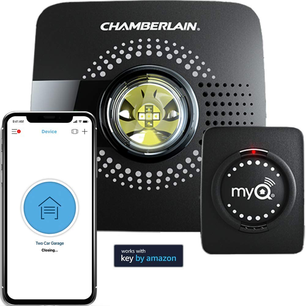 MyQ Smart Garage Door Opener Chamberlain MYQ-G0301 - Google Home Mini Accessories and Kits