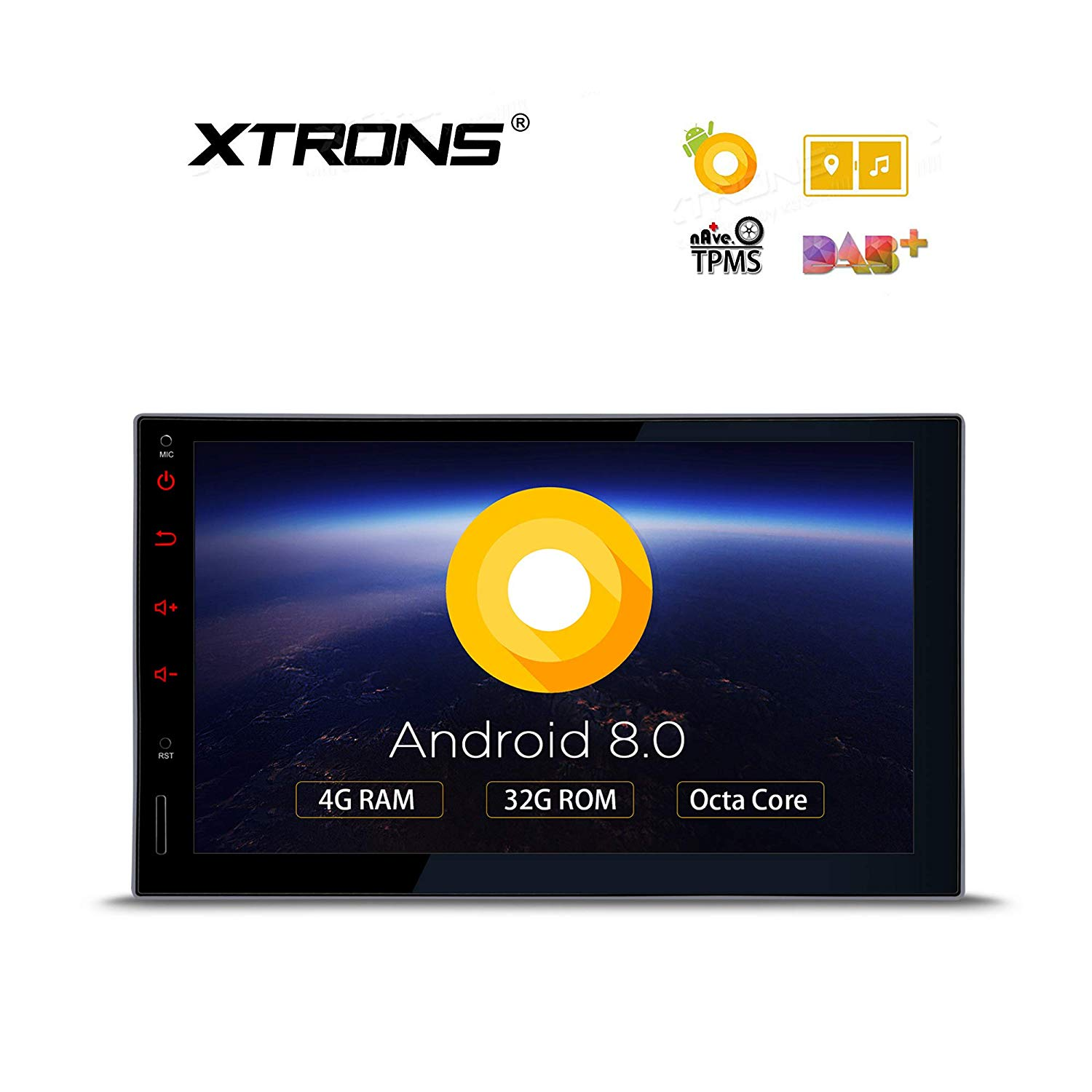 XTRONS 7 Inch Android 8.0 Octa