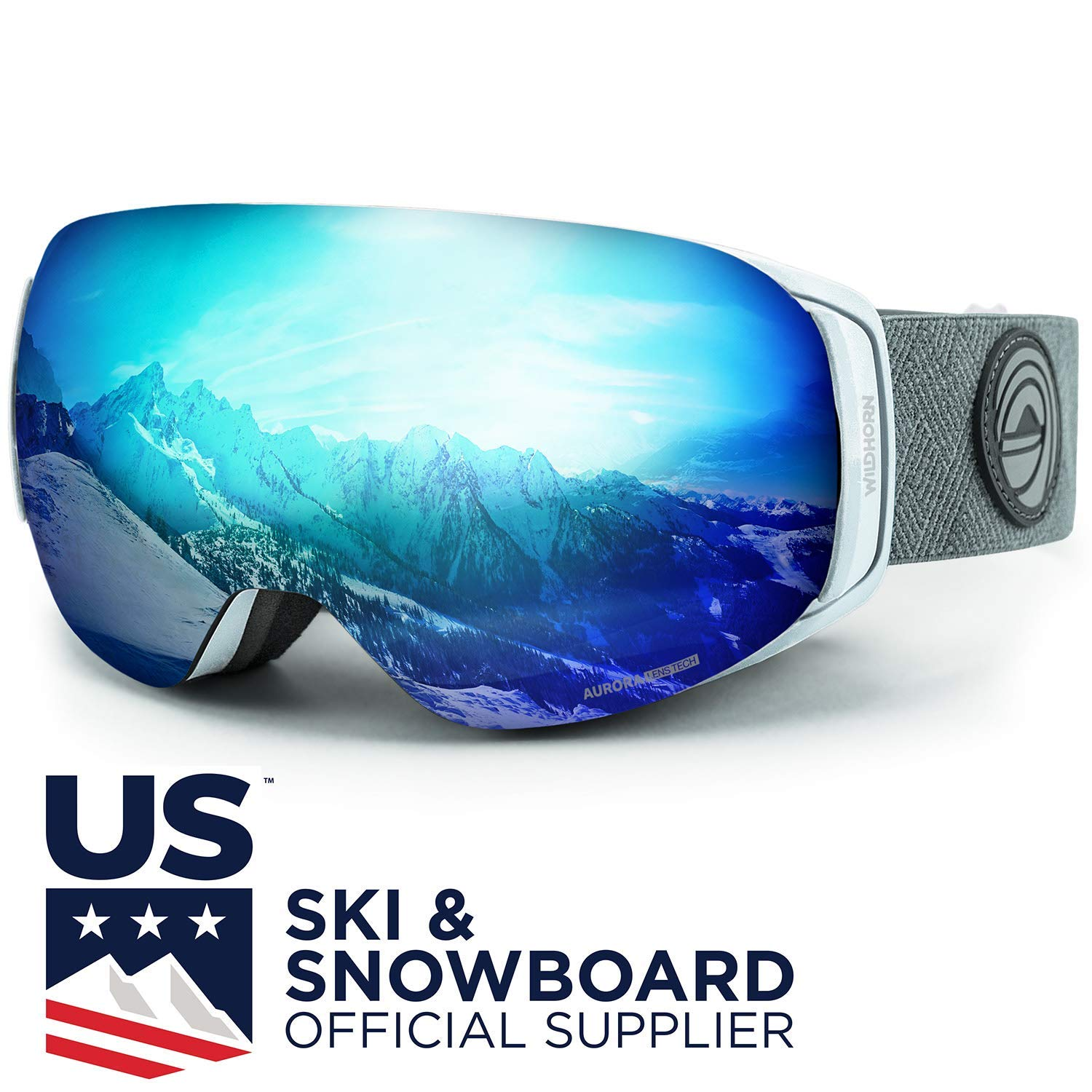WildHorn Outfitters Roca Ski Goggles & Snowboard Goggles