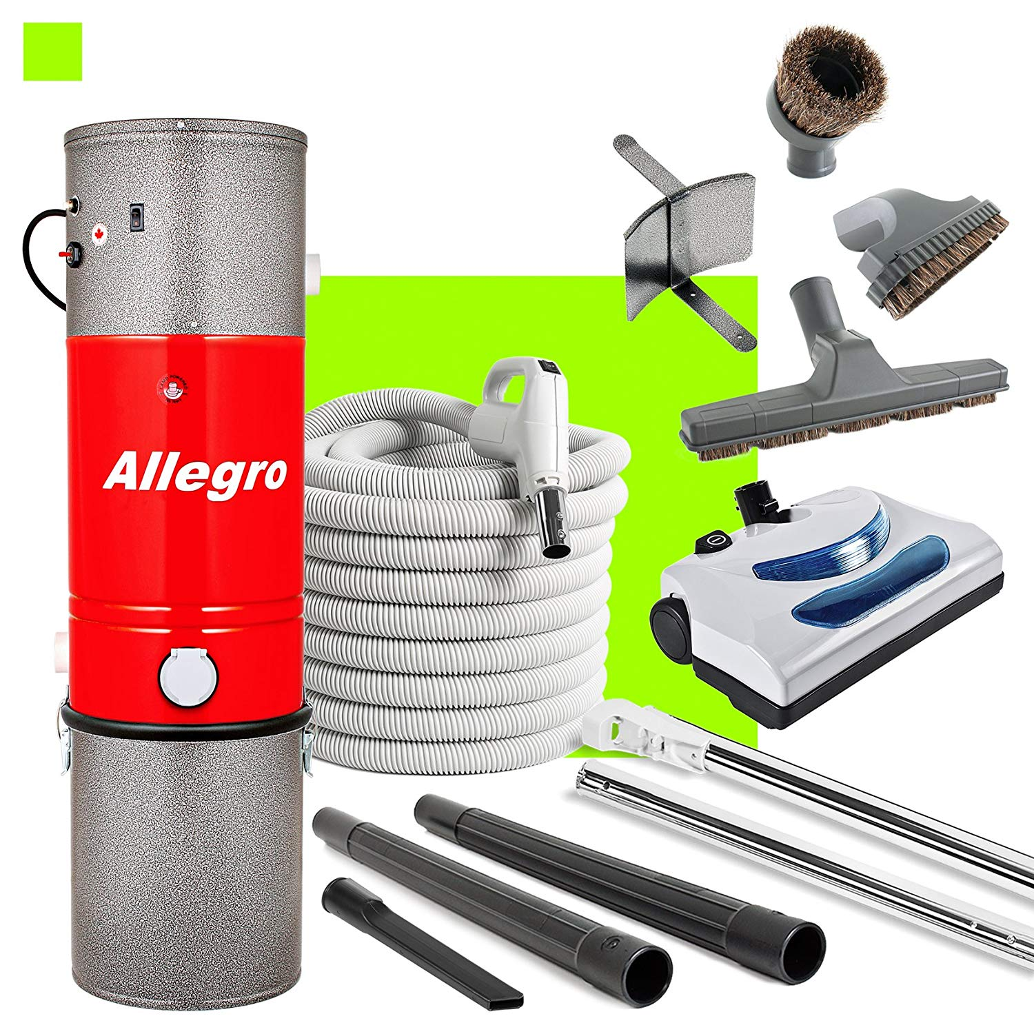 Allegro Central Vacuum MU4100 Unit