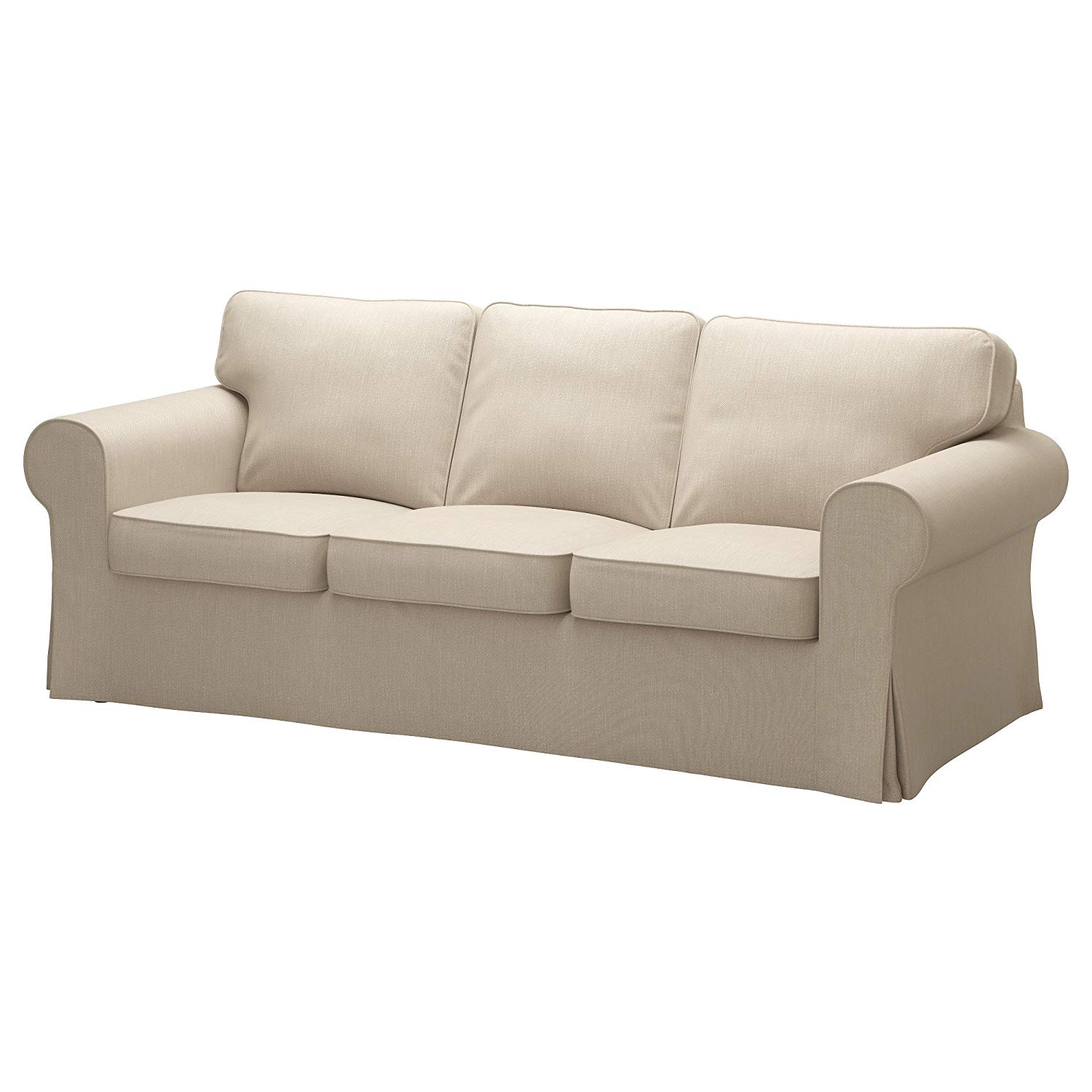 IKEA Cover for Ektorp Sofa, Nordvalla Dark Beige