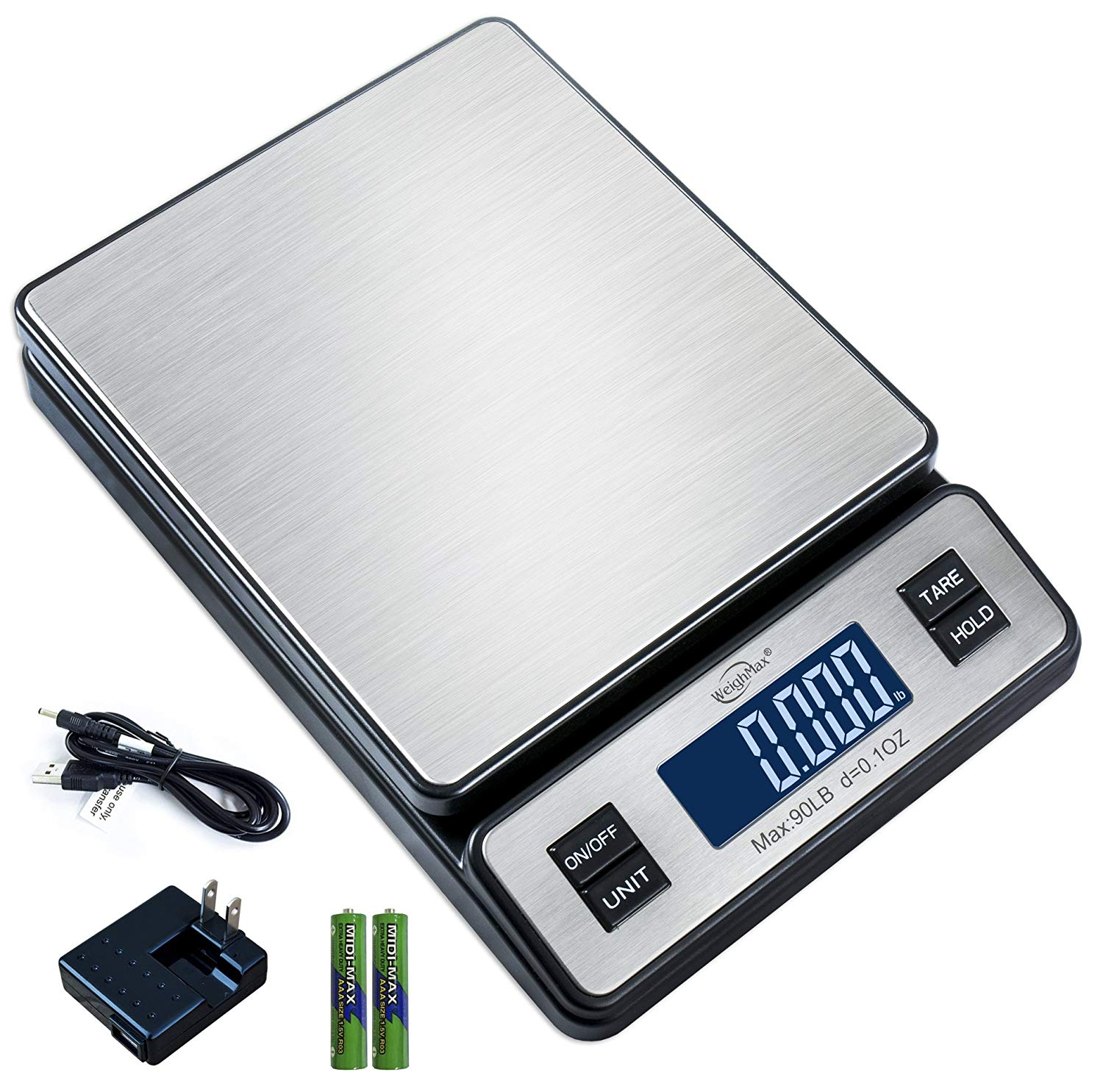 Weighmax W-2809 90 LB X 0.1 OZ