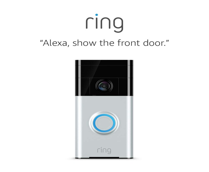 Ring Video Doorbell with HD Video - smart doorbell cameras
