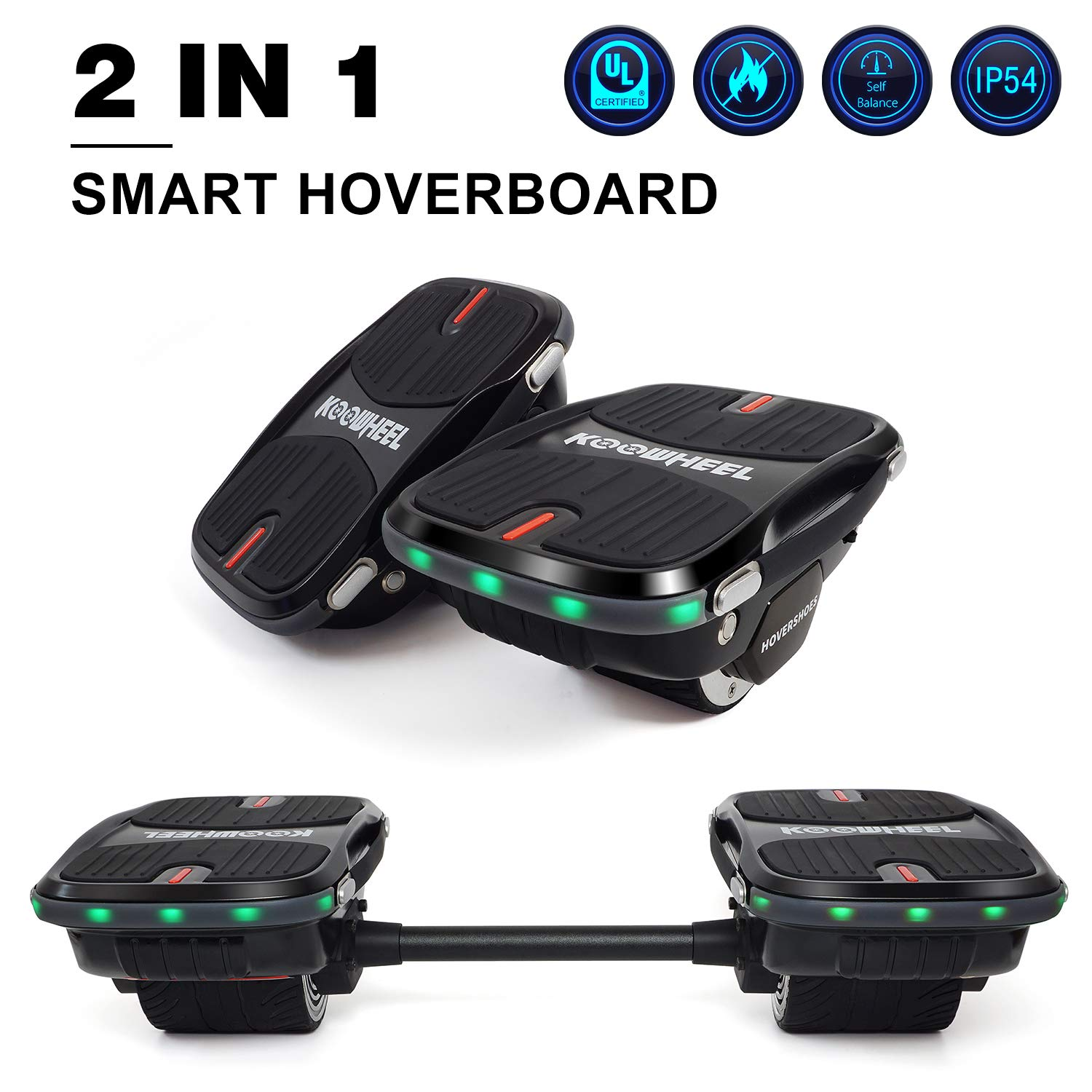 Convertible Hoverboard Hovershoes Electric