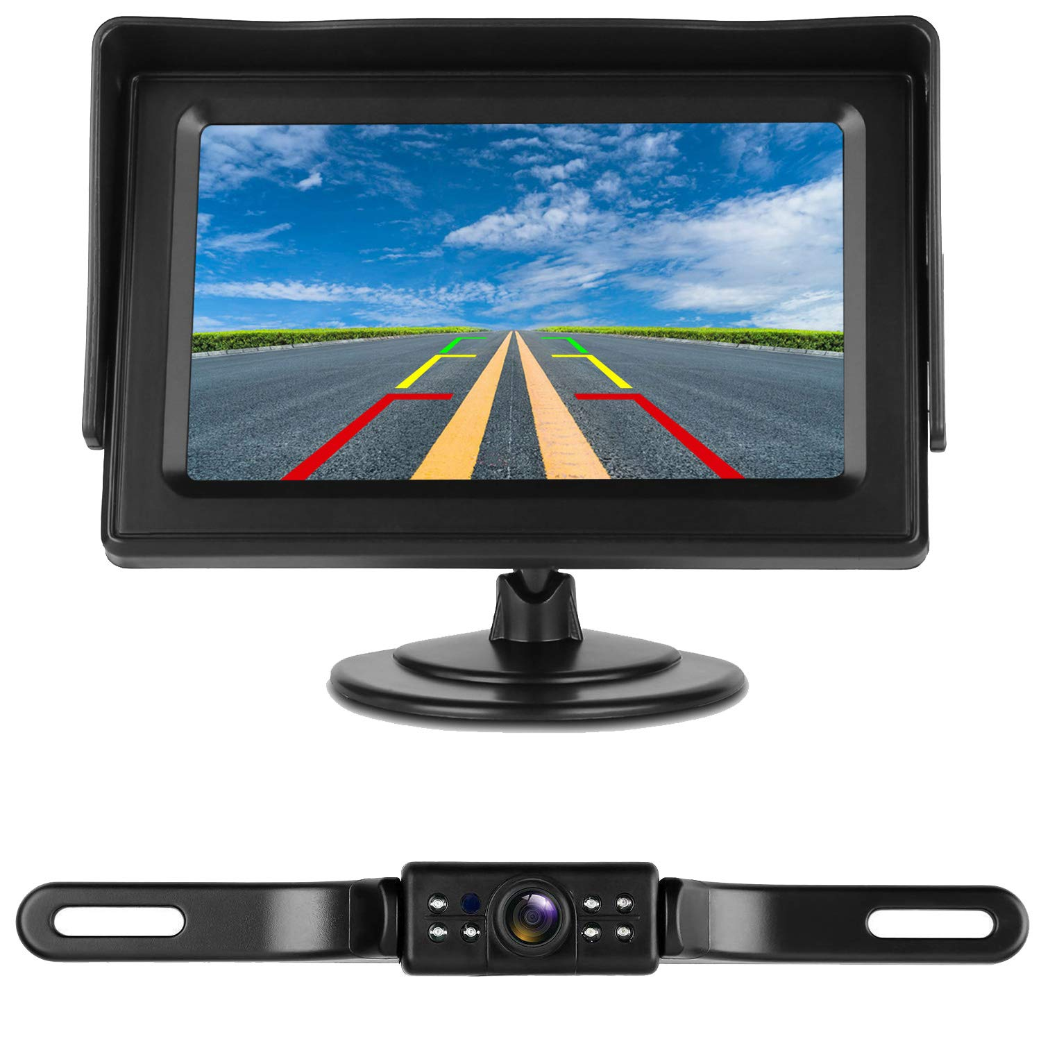 iStrong Backup Camera and Monitor Kit - Best Wireless Backup Cameras