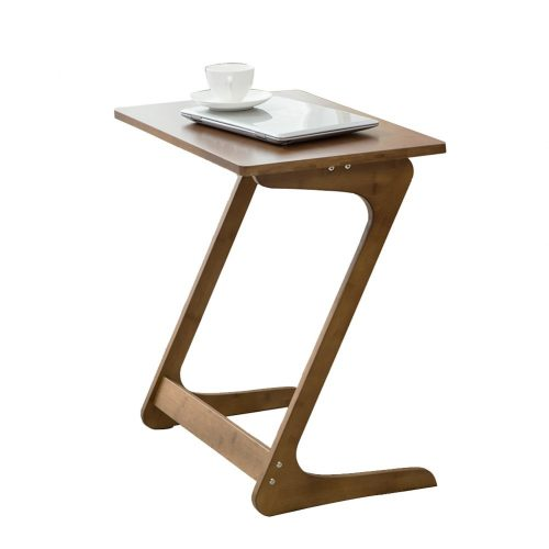 Sofa Table TV Tray NNEWVANTE End Table Laptop