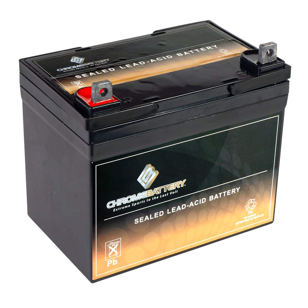 Chrome Battery 12V 35AH