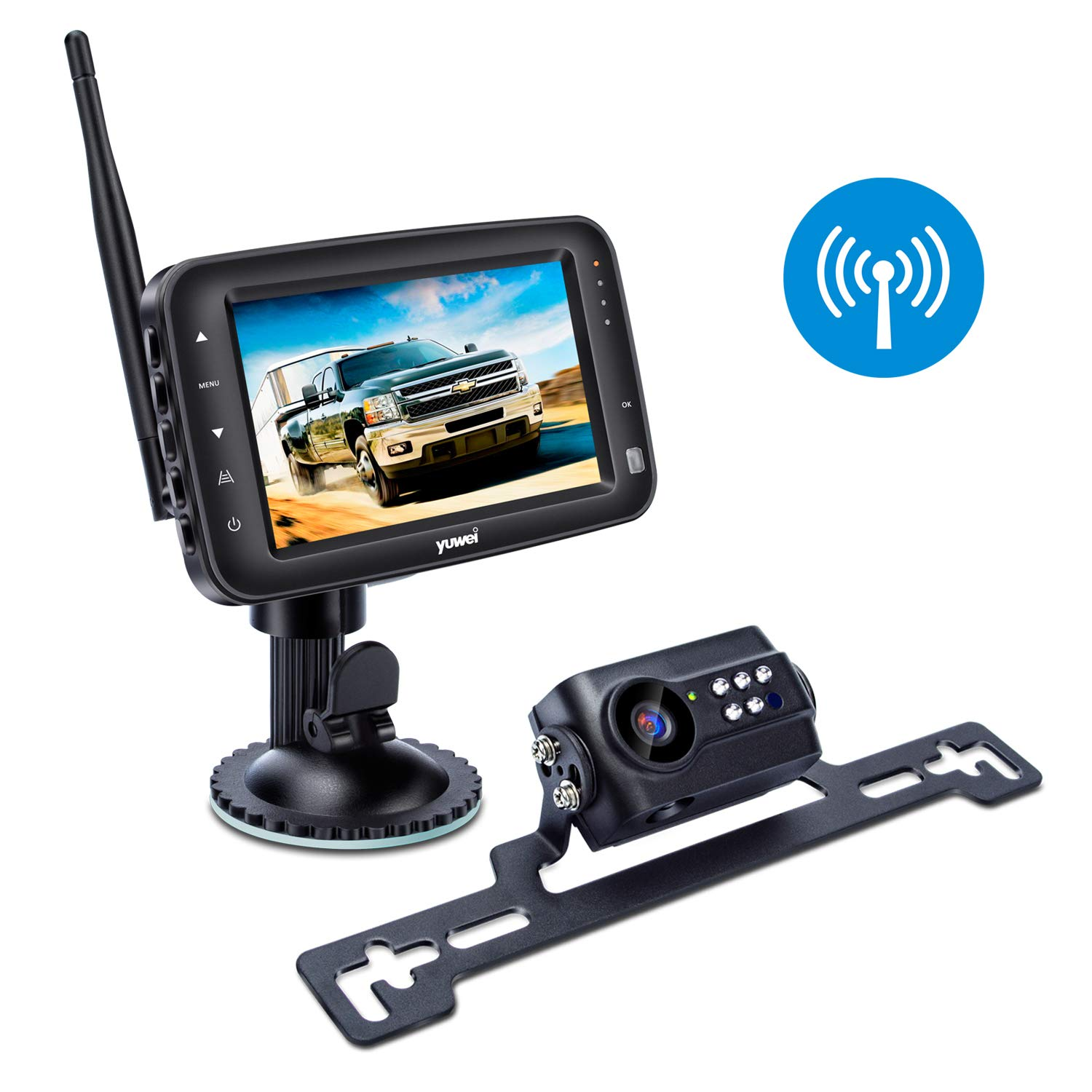 Yuwei Wireless Backup Camera System - Best Wireless Backup Cameras