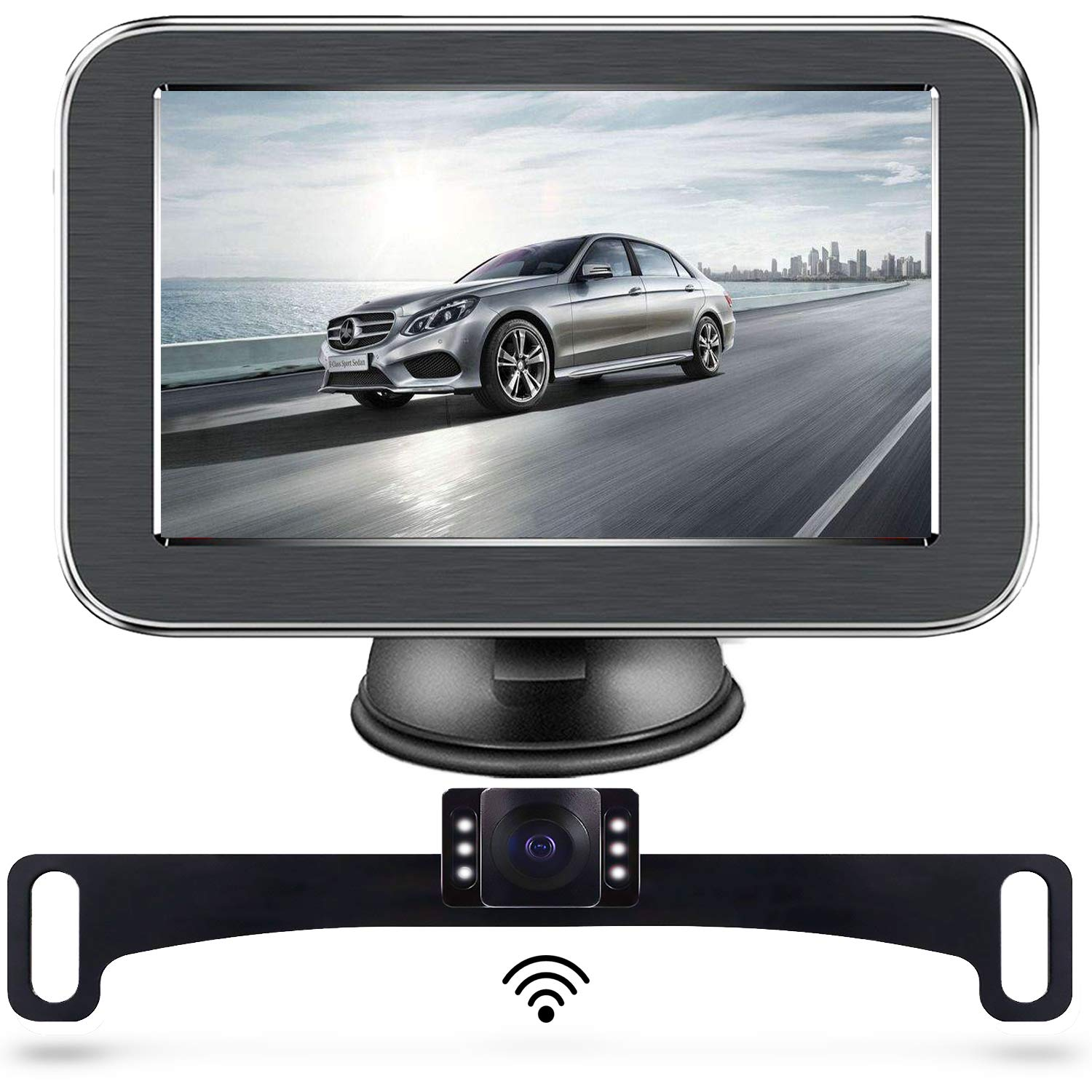 Lastbus Five-Inch - Best Wireless Backup Cameras - Best Wireless Backup Cameras