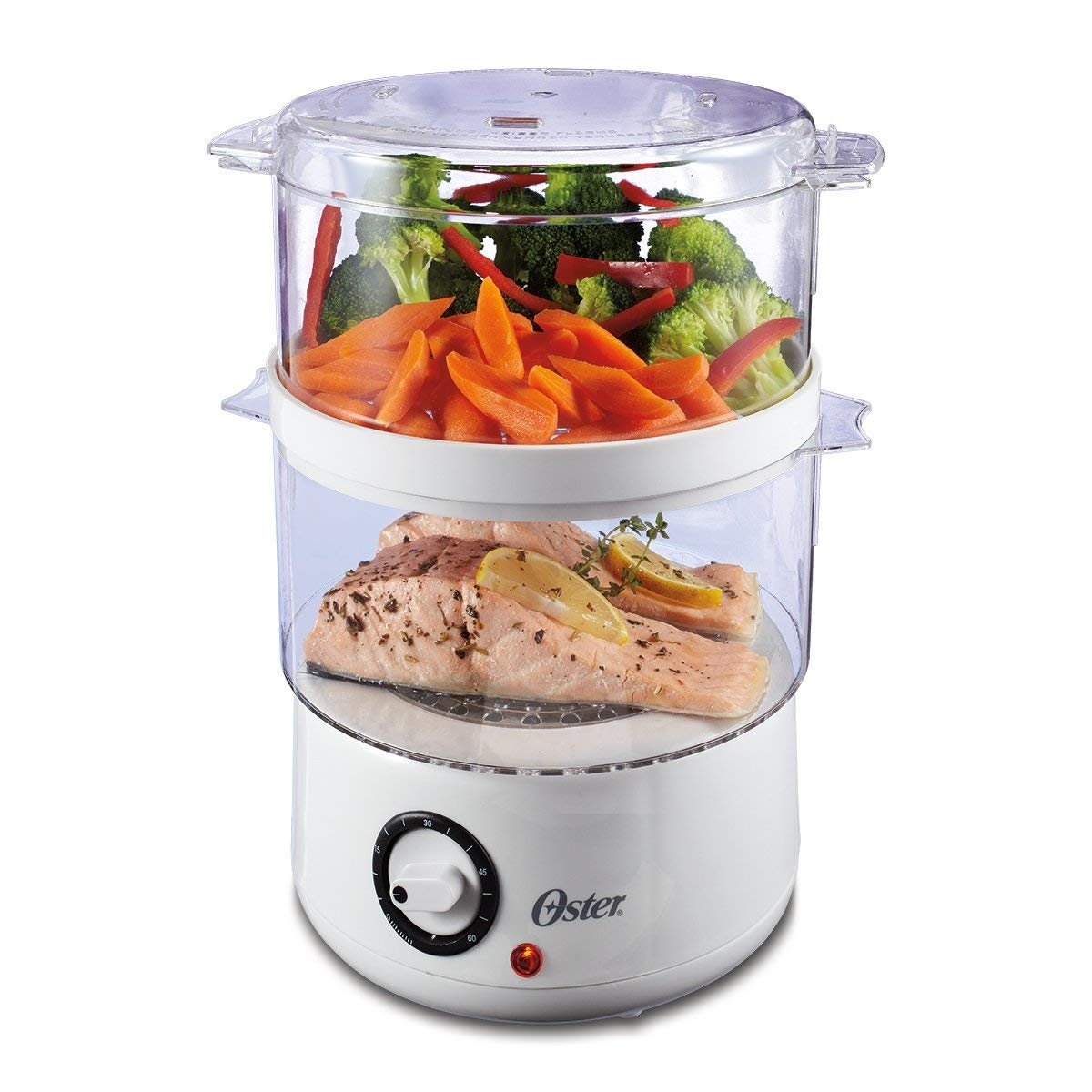 Oster Double Tiered Food Steamer, 5 Quart