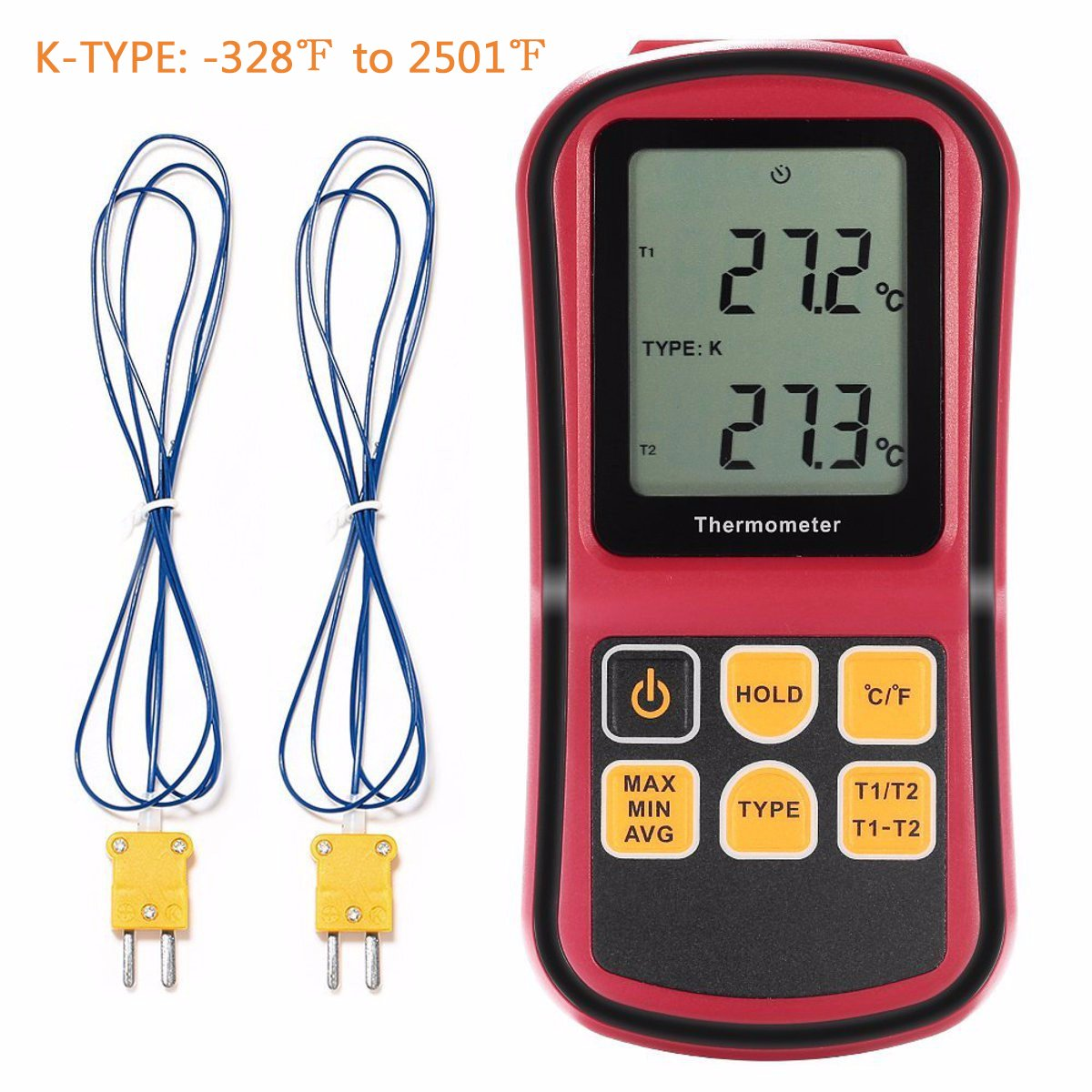 Liumy 110V LCD Dual-Channel Temperature Controllers